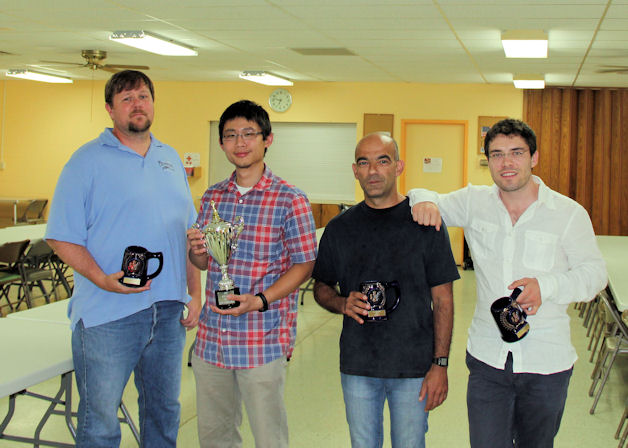 2013 South Dakota Champions- International Pawn Stars (LtoR) Mark Derby, Richard Handoko, Sandor Kustar, Ekrem Tamkan